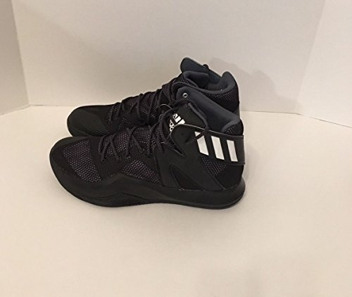 Adidas Man Galen Studs Black Basket Skor Sz. 12 Nya Aq7757