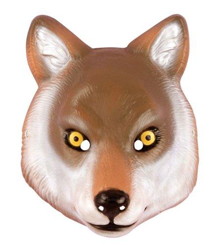 Deluxe Adult Wolf Mask (Deluxe Adult Wolf Mask)