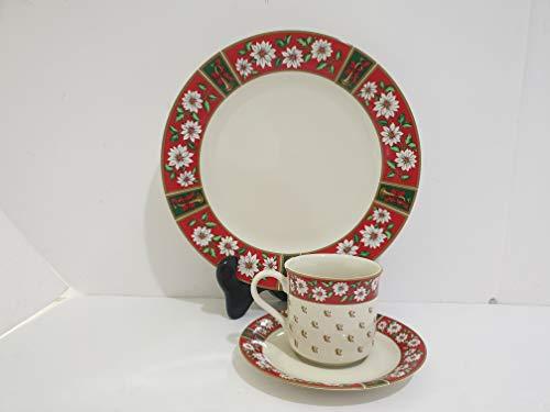 Classic Traditions Charlton Hall Ceramic Place Set of 12 Pcs