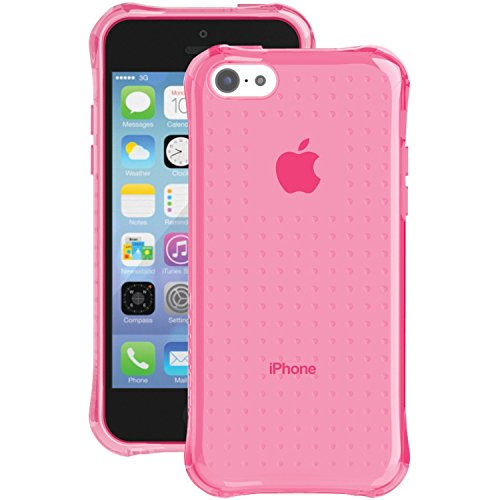 Ballistic iPhone 5c Jewel Case - Retail Packaging - Pink Crystal (Ballistic 5c Jewel)