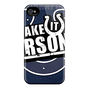 Scratch Protection Cell-phone Hard Cover For Iphone 6plus (rSO20459dOBp) Support Personal Customs Trendy Indianapolis Colts Image