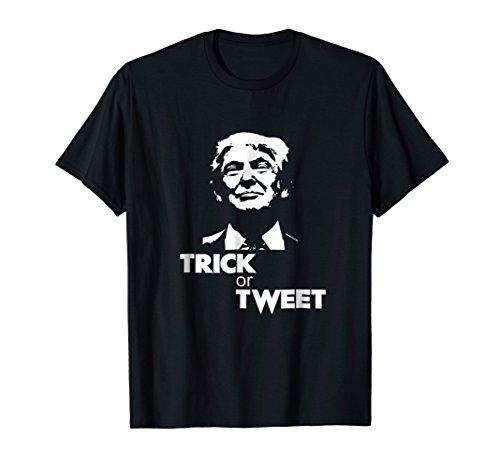 Trick or Tweet funny Trump Halloween -