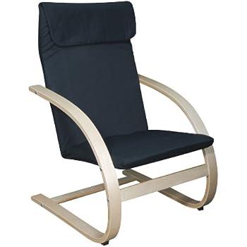 Amazon Com Guidecraft Teachers Rocker Blue Chair