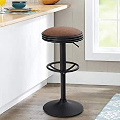 Farmhouse Barstools Maison Swivel Bar Stool for Kitchen Counter Adjustable Farmhouse Counter Height Bar Chair Modern Kitchen Island Stools… farmhouse barstools