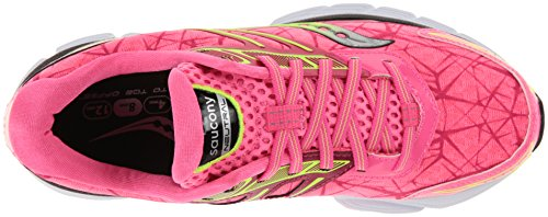 Saucony Women's Breakthru Running Shoe Pink/Citron clearance official site sale online shopping buy cheap 100% original finishline for sale extremely cheap online lltctq