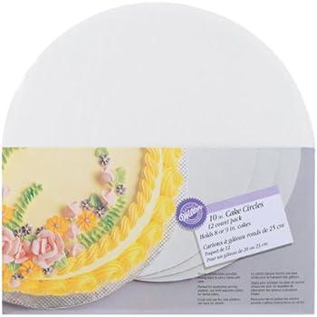 Wilton 10-Inch Cake Circle, 12-Pack