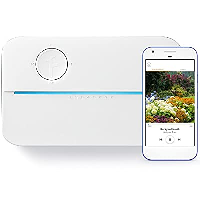 Rachio 3 WiFi Smart Lawn Sprinkler Controller, Works with Alexa, 8-Zone