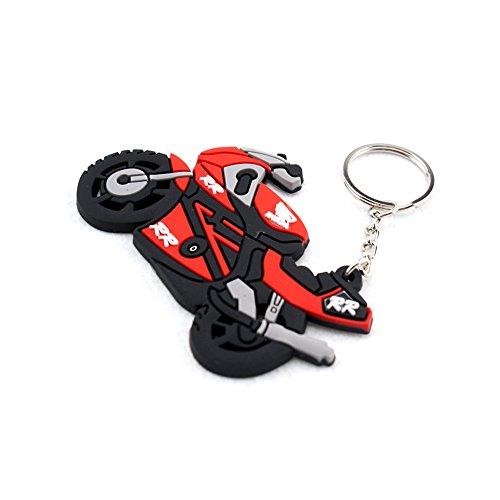 Cbr Rings - Keyring Motor Bike Rubber Keychain Key Chain Key Ring Gift For Honda CBR REPSOL