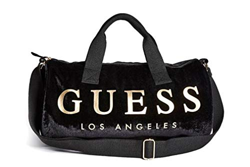 - Guess Women's Velvet Logo Small Duffle Bag Handbag