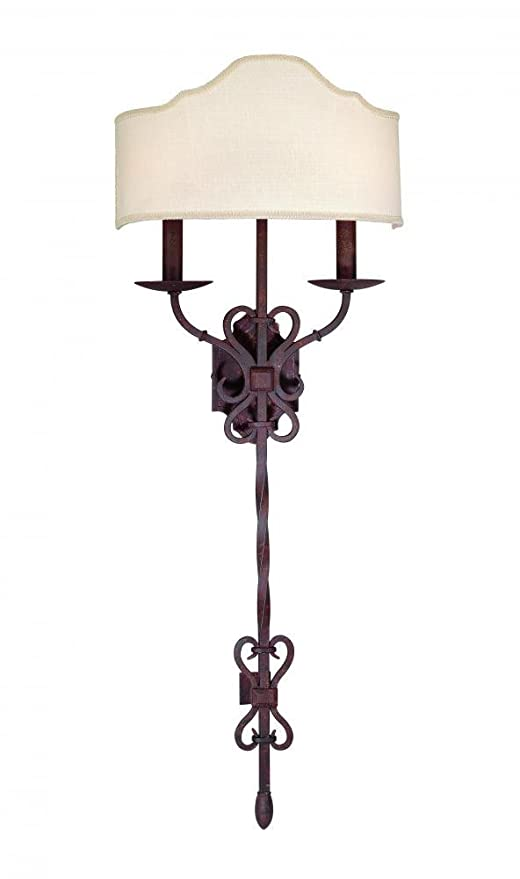 Amazon.com: Troy iluminación b2522 Sevilla 2 Light Doble ...