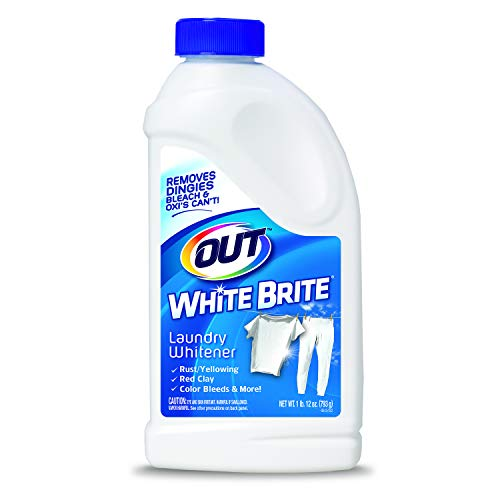 White Timer Washer - OUT White Brite Laundry Whitener, 1 lb. 12 oz. Bottle