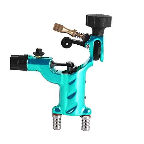 Yosoo Dragonfly Rotary Tattoo Machine Shader Tatoo Motor Gun Kits(Not Include Tattoo Needle)(Green)