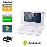 Netbook Laptop Android 4.2 HDMI écr.7 (Wifi-SD-MMC) (White)
