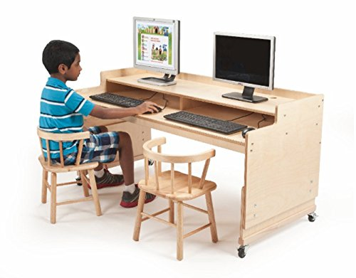 Whitney Brothers Adjustable Computer Desk