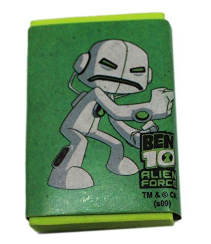 Green Ben 10 Alien Force Square Eraser - Buy Online in Oman