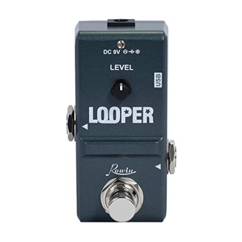 Rowin Tiny Looper Electric Guitar Effect Pedal 10 Minutes of