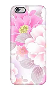 New Style Estebanrivera-2 Hard Case Cover For Iphone 6 Plus- Pink Flower Pattern