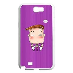 Samsung Galaxy N2 7100 Cell Phone Case White CariCartoon Funny Cartoon 5 JSK702616