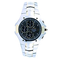 Seiko Chronograph Stainless Steel - Two-Tone Men's watch #SNAB32