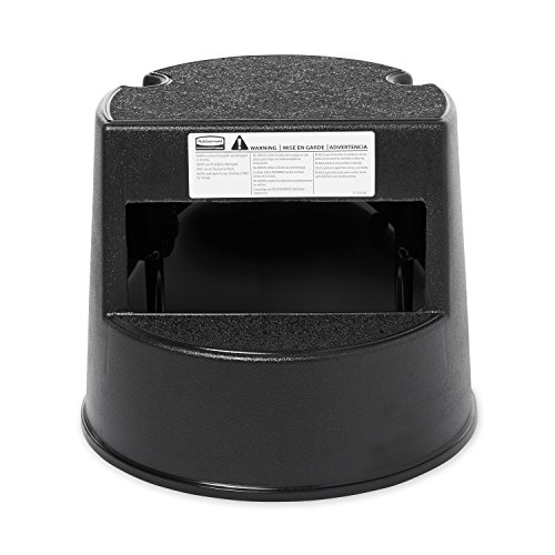 (Rubbermaid Commercial FG252300BLA Step Stool, Black)