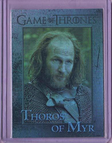 (2014 Game of Thrones Season Three Foil #82 Thoros of)
