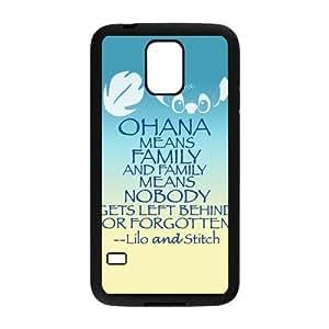 Personalized Fantastic Skin Durable Rubber Material Samsung Galaxy s5 Case - Lilo & Stitch