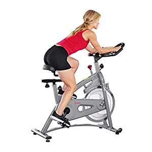 Well-Being-Matters 41p192CSXYL._SS300_ Sunny Health & Fitness Endurance Magnetic Belt Drive Indoor Cycling Exercise Bike Stationary Bike