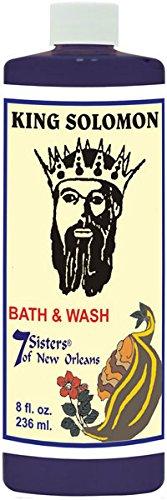 7 Sisters King Solomon Bath & Floor Wash 8oz