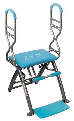 Pilates PRO Chair Max with Sculpting Handles by Life's A Beach (Blue) For Sale