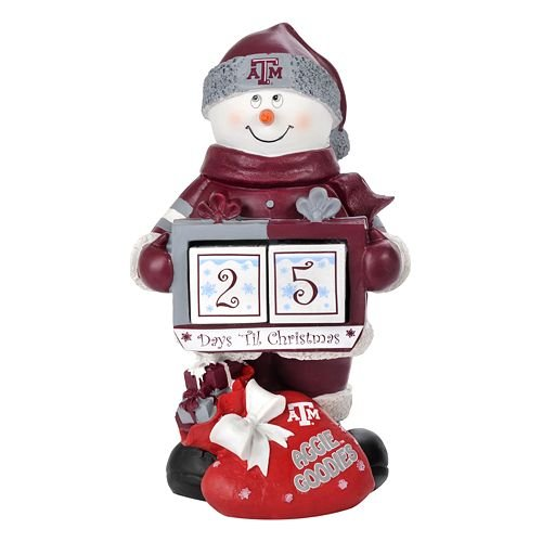 FOCO Texas A&M Kohls Snowman Countdown Calendar by FOCO