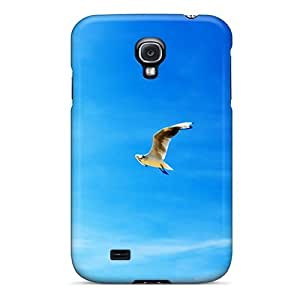 For Galaxy S4 Tpu Phone Case Cover(seagulls In Flight)