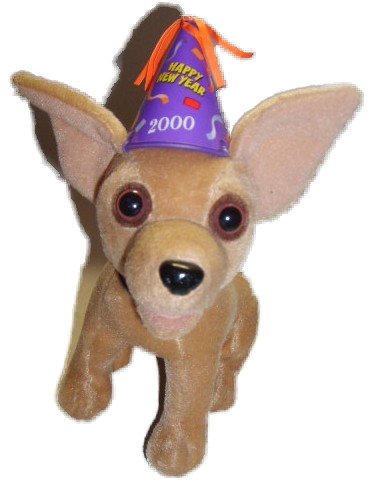 Talking Taco Bell Chihuahua - Special Millenium New Year Version