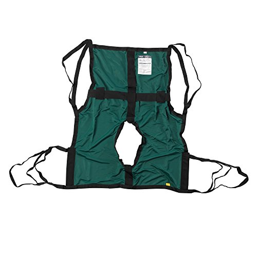 13254S - One Piece Sling with Positioning Strap, with Commode Cutout, - Drive Piece One Medical