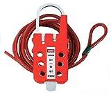 Panduit PSL-MLD Multiple Lockout Device, Red by Panduit