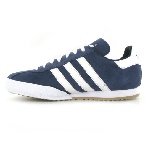 Adidas Originals Samba Super Wildleder Trainer Blau Leder Turnschuhe 019332