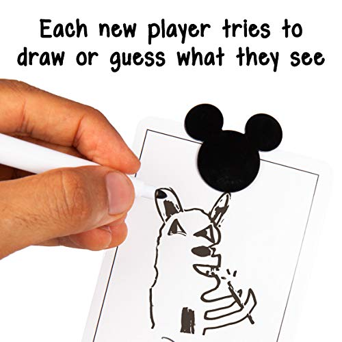 Disney Sketchy Tales Game - Magical Disney Games for Kids - Draw Your Favorite Disney Characters - Fun for Kids and Adults