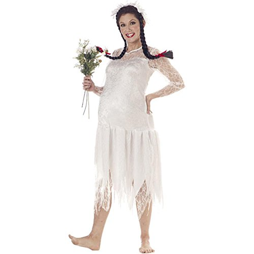 Adult Hillbilly Woman Pregnancy Costume (Size: 8-10) -