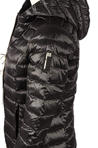 6bfd644c3a00ec BOMBOOGIE Giubbino Piumino Donna 100 Grammi Vera Piuma JW542BTCSI90 (2 /  M): Amazon.it: Abbigliamento
