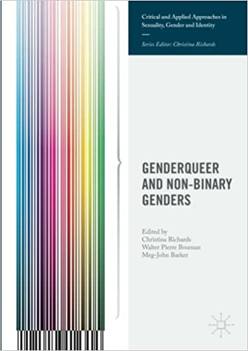 Genderqueer And Non Binary Genders Critical And Applied Approaches