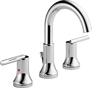 Nice Delta Faucet 3559 MPU DST Trinsic, Widespread Bath Faucet With Metal  Pop Up, Chrome