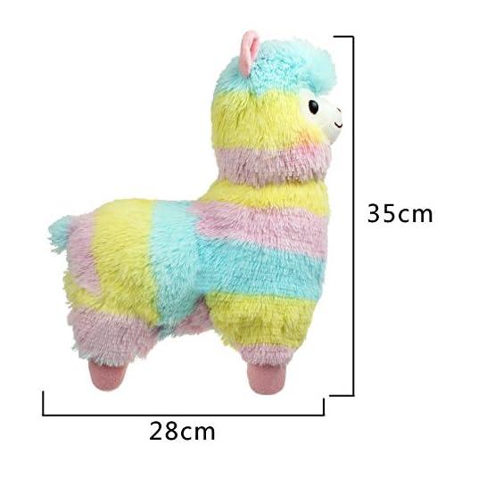 Alpacasso - Rainbow Plush Alpaca - 14 Inch 2