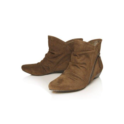 Nine 35 3 Brown para Botas UK Khaki mujer West qr6qYCa