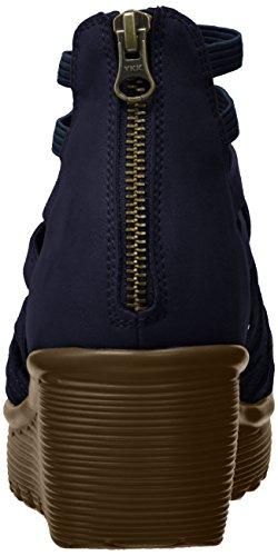 Wedge Navy Queen Dream Sandal Parallel Women's Skechers wq6vaa