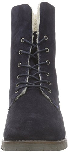 ARQUEONAUTAS Ryoko-3 - botas de caño bajo de piel mujer azul - azul (marino)