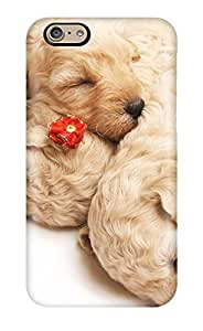 Hot Cute Sleeping Puppies First Grade Tpu Phone Case For Iphone 6 Case Cover