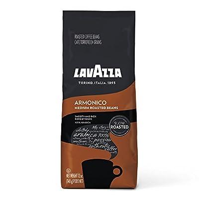 Lavazza Armonico Whole Bean Coffee Blend, Medium Roast, Medium Roast, 12 Ounce