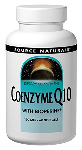 Source Naturals CoQ10 Coenzyme Q10 100mg Maximum StrengthHigh Absorption - Stay Healthy & Active - 60 Softgels