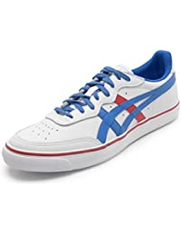 Tênis Asics Top Spin Leather Couro Natural
