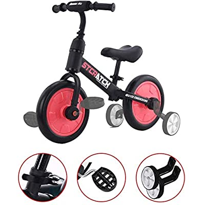 ZavoFly Baby Balance Bikes Bicycle Kids Toys Riding Toy for 2-5 Year Boys&Girls, Baby's First Bike First Birthday Gift(Red): Sports & Outdoors