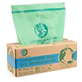 Greener Walker 100% Compostable Trash Bags, 1.6